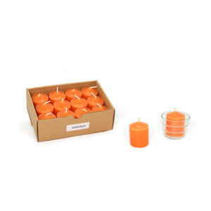 taco perfumado naranja
